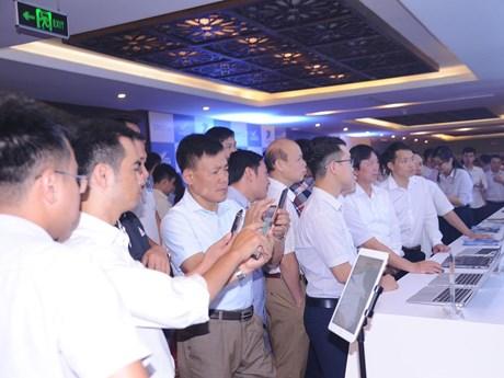 VNPT trình diễn các giải pháp chuyển đổi số sáng tạo, hiện đại | Công nghệ | Vietnam+ (VietnamPlus)