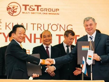 Tập đoàn T&T Group thành lập công ty tại Liên bang Nga   Doanh nghiệp   Vietnam+ (VietnamPlus)
