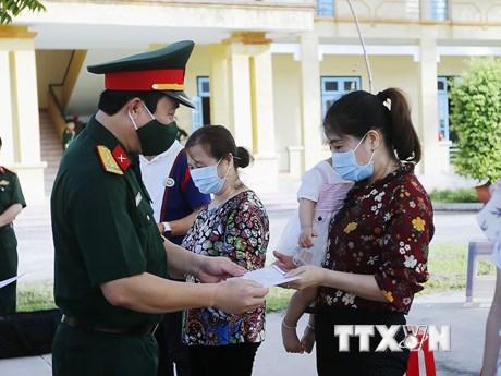 83 ngày không ca lây nhiễm trong cộng đồng, thêm 2 ca khỏi COVID-19 | Y tế | Vietnam+ (VietnamPlus)