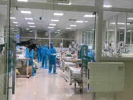 46 trường hợp đang điều trị COVID-19 trong tình trạng nặng và rất nặng