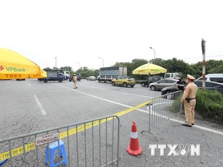 Sáng 24/7, Hà Nội thêm 9 ca mắc COVID-19 thuộc 6 chùm ca bệnh