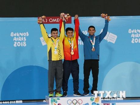 [Photo] Olympic trẻ Việt Nam hoàn thành chỉ tiêu ngay ngày đầu