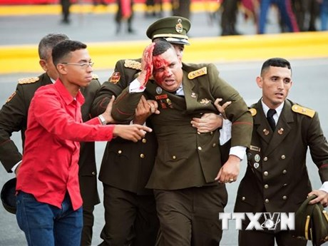 Venezuela cáo buộc Colombia và Mỹ dính líu vụ ám sát bất thành