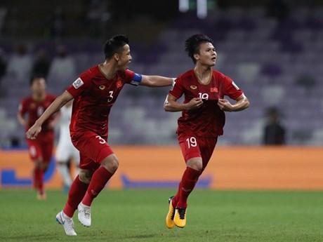 Asian Cup 2019: Tiền vệ Quang Hải cảm ơn các đồng đội