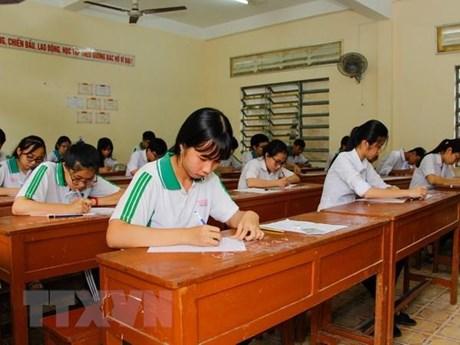 Hoàn tất kết luận điều tra về vụ nâng điểm thi tại tỉnh Hòa Bình | Giáo dục | Vietnam+ (VietnamPlus)