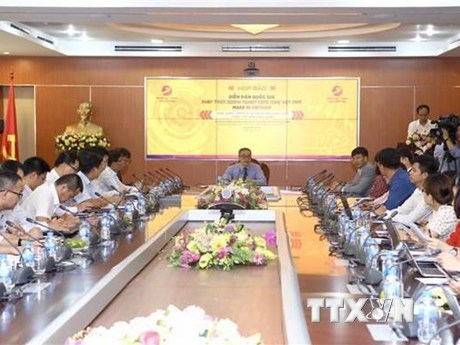 Lần đầu tổ chức Diễn đàn quốc gia Phát triển doanh nghiệp công nghệ | Công nghệ | Vietnam+ (VietnamPlus)