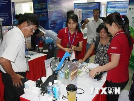Hơn 100 công nghệ, thiết bị được giới thiệu tại Techmart nông sản | Công nghệ | Vietnam+ (VietnamPlus)