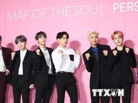 BTS được Guinness vinh danh lần thứ tư trong vòng 2 tháng   Âm nhạc   Vietnam+ (VietnamPlus)