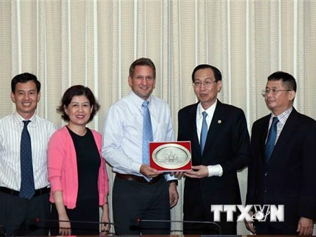 TP.HCM và tập đoàn Intel đẩy mạnh hợp tác cùng phát triển | Doanh nghiệp | Vietnam+ (VietnamPlus)