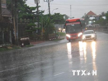 Vùng núi và trung du Bắc Bộ mưa rất to, khả năng kéo dài đến đêm 25/7   Môi trường   Vietnam+ (VietnamPlus)