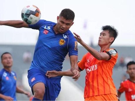 Câu lạc bộ SHB Đà Nẵng giành chiến thắng trên sân Quảng Nam  | Bóng đá | Vietnam+ (VietnamPlus)