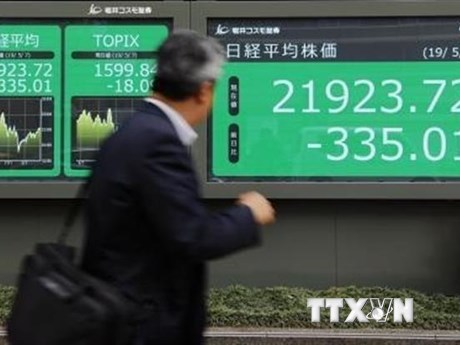 Thị trường chứng khoán châu Á biến động trái chiều | Chứng khoán | Vietnam+ (VietnamPlus)