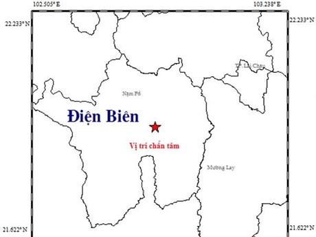 Động đất có độ lớn 3,3 gần trung tâm thành phố Điện Biên Phủ | Môi trường | Vietnam+ (VietnamPlus)