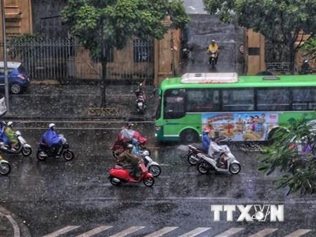 Ảnh hưởng của không khí lạnh, Bắc Bộ và Trung Bộ mưa lớn diện rộng   Môi trường   Vietnam+ (VietnamPlus)