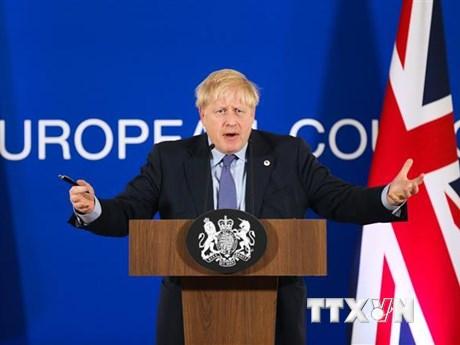 Thủ tướng Anh Boris Johnson chính thức đề nghị EU gia hạn Brexit | Châu Âu | Vietnam+ (VietnamPlus)