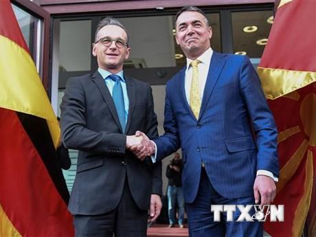 Đức ủng hộ Bắc Macedonia gia nhập Liên minh châu Âu