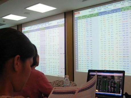 Cổ phiếu ngân hàng giúp VN-Index vượt mốc 870 điểm