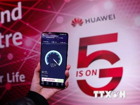 Huawei vẫn để ngỏ khả năng thảo luận với Chính phủ Anh về mạng 5G | Công nghệ | Vietnam+ (VietnamPlus)