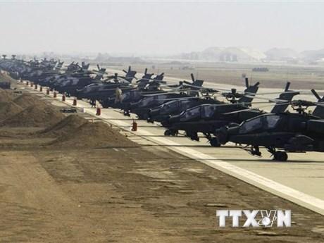Boeing hoàn tất chuyển giao 37 trực thăng quân sự cho Ấn Độ