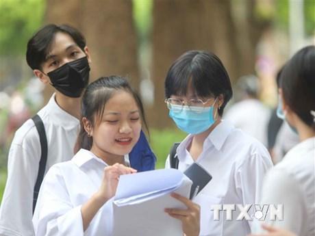 Thời tiết vẫn thuận lợi trong ngày cuối thi tốt nghiệp THPT