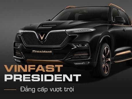 VinFast nâng tầm đẳng cấp với mẫu SUV hạng sang President