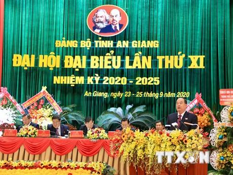 Đưa An Giang thuộc nhóm đầu kinh tế khu vực ĐBSCL vào năm 2025
