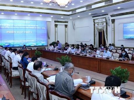 TP.HCM phấn đấu đúng tiến độ kế hoạch chuẩn bị cho các cuộc bầu cử