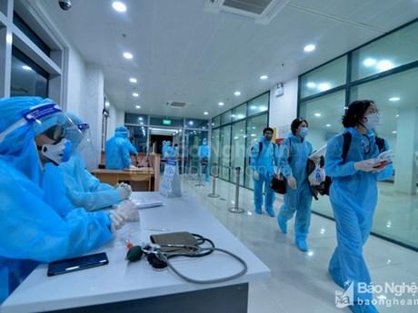 Nghệ An: Hai người trở về từ Nhật Bản dương tính với SARS-CoV-2