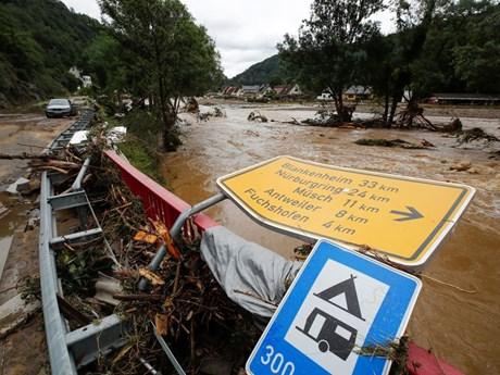 Số người thiệt mạng do mưa lũ tại Đức và Bỉ tiếp tục tăng