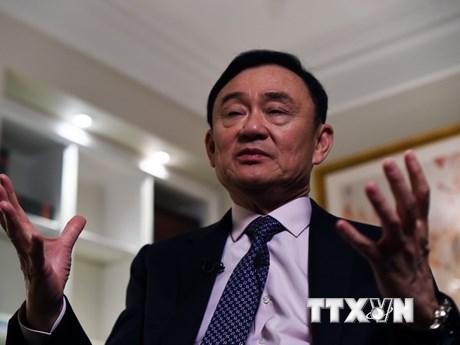 Cựu Thủ tướng Thái Lan Thaksin Shinawatra muốn trở về Thái Lan