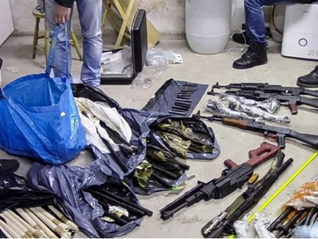 Cảnh sát Bulgari triệt phá một kho vũ khí lớn tại thủ đô Sofia