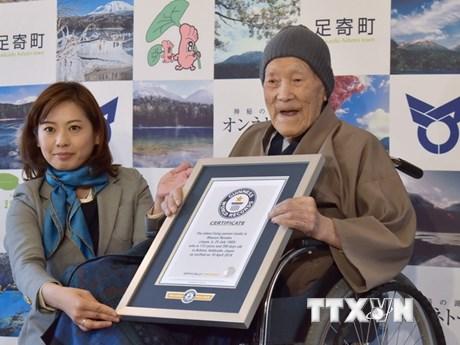 Cụ ông cao tuổi nhất thế giới người Nhật Bản qua đời ở tuổi 113