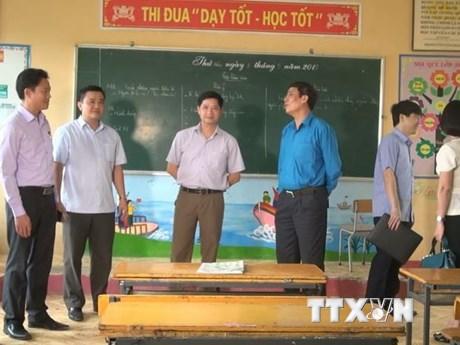 Học sinh đã đi học bình thường sạu vụ án mạng nghiêm trọng tại trường | Giáo dục | Vietnam+ (VietnamPlus)