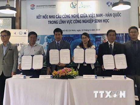 Kết nối hợp tác trong công nghệ sinh học giữa Việt Nam-Hàn Quốc | Khoa học ứng dụng | Vietnam+ (VietnamPlus)