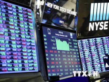 Chứng khoán thế giới phần lớn tăng trong phiên ngày 12/11 | Chứng khoán | Vietnam+ (VietnamPlus)
