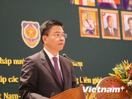 Linh hoạt trong hợp tác tư pháp giữa các tỉnh biên giới với Campuchia | Xã hội | Vietnam+ (VietnamPlus)