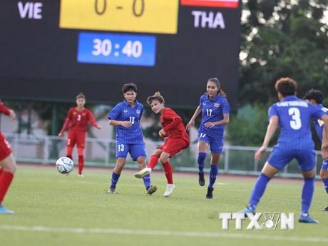 Tuyển nữ Thái Lan sẵn sàng so tài với Việt Nam trong trận chung kết   Bóng đá   Vietnam+ (VietnamPlus)