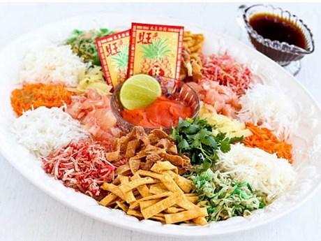 Yee Sang - Món ăn mang lại may mắn trong Năm Mới ở Malaysia