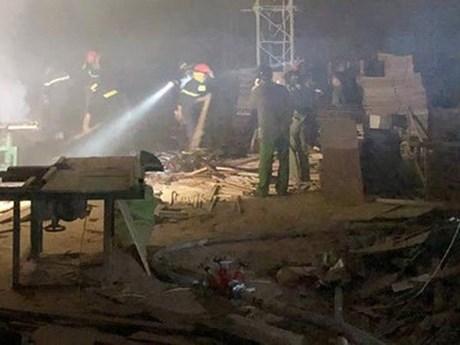 Cà Mau điều tra nguyên nhân cháy xưởng gỗ thiệt hàng...