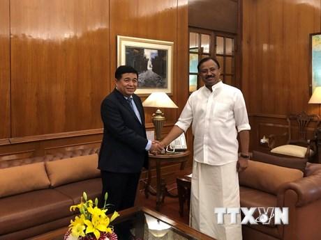 Việt Nam-Ấn Độ đẩy mạnh xúc tiến đầu tư thương mại song phương
