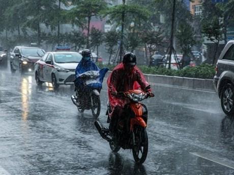 Chiều tối và đêm 6/6, các khu vực trong cả nước đều có mưa dông