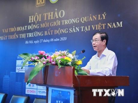 Vai trò môi giới trong quản lý, phát triển thị trường bất động sản | Bất động sản | Vietnam+ (VietnamPlus)