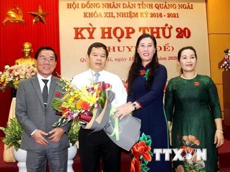 Thủ tướng phê chuẩn bầu chức vụ Chủ tịch UBND tỉnh Quảng Ngãi