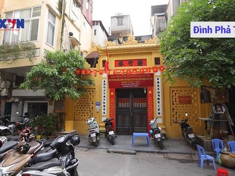 Nhiều danh thắng tại phố cổ Hà Nội đã sẵn sàng trở thành điểm bỏ phiếu