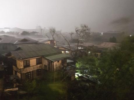[Photo] Cận cảnh siêu bão Mangkhut tàn phá Philippines và Hong Kong