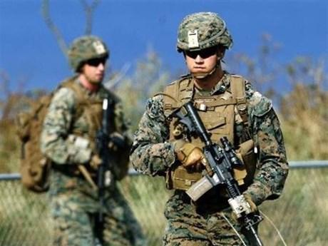 [Photo] Cận cảnh lực lượng Nhật-Mỹ tập trận chiếm đảo