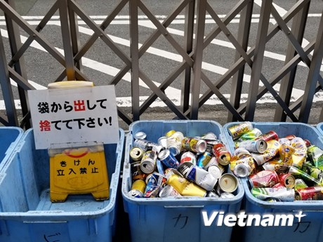 [Photo] Người Tokyo đã đối phó với rác thải như thế nào?