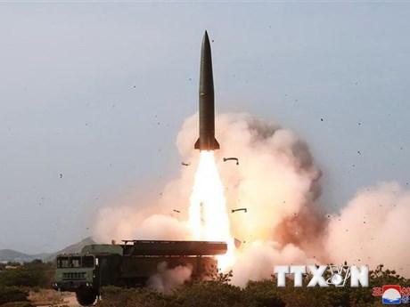 Mỹ nhận định Triều Tiên đã phóng tên lửa đạn đạo trong ngày 4/5 | Châu Á-TBD | Vietnam+ (VietnamPlus)