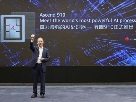 Huawei ra mắt bộ xử lý trí tuệ nhân tạo ''mạnh nhất'' Ascend 910
