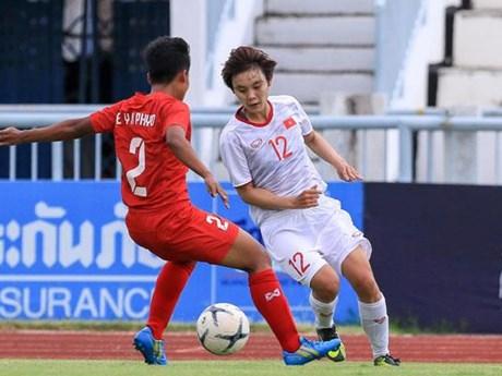 Philippines gặp tuyển Việt Nam ở Bán kết bóng đá nữ Đông Nam Á 2019 | Bóng đá | Vietnam+ (VietnamPlus)